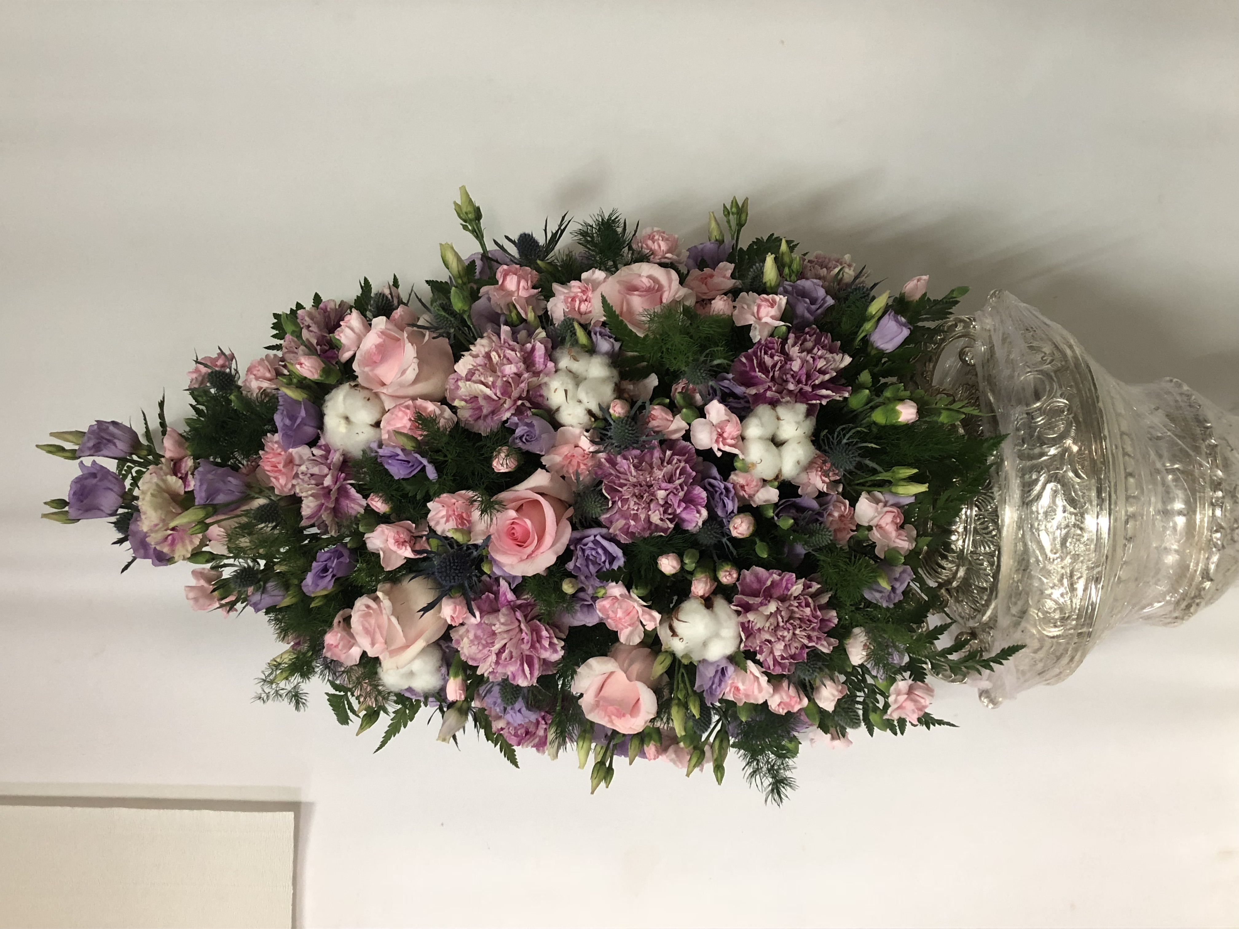Pina de flor variada